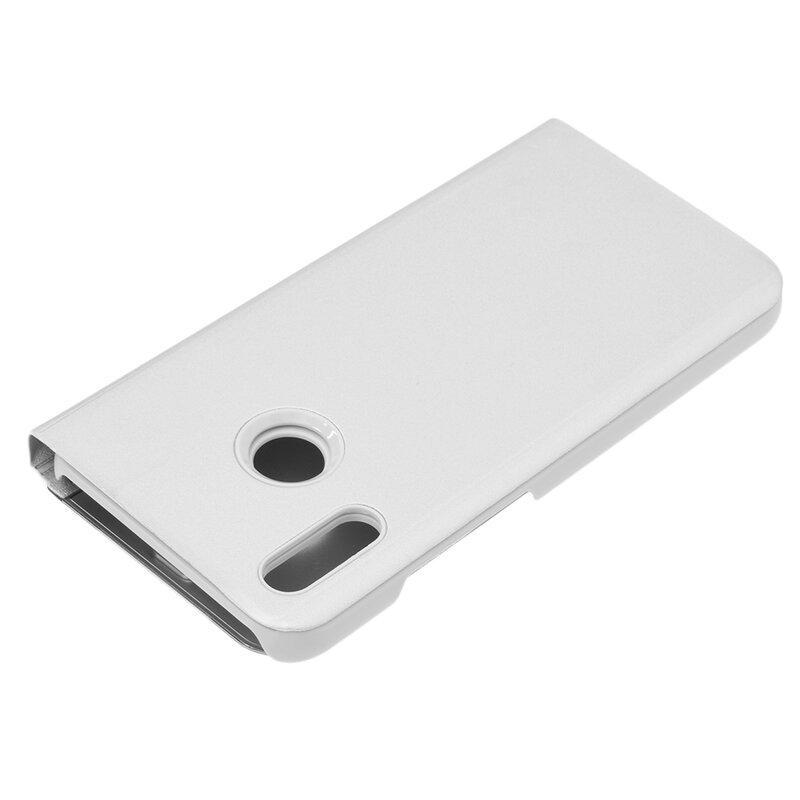 Husa Huawei P20 Lite Flip Standing Cover - Silver