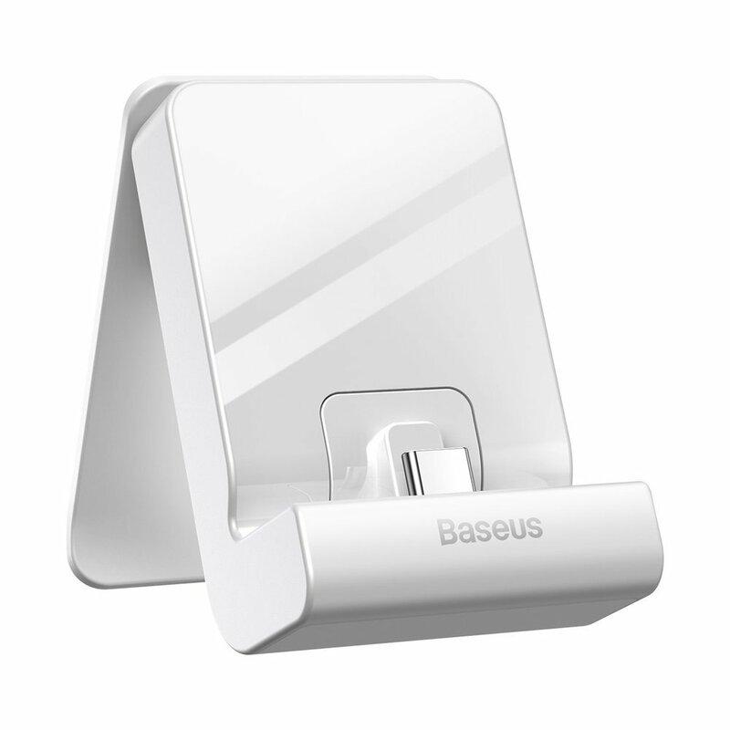 Suport Nintendo Switch Baseus GS10 SW Adjustable Stand Reglabil Cu Functie De Incarcare - WXSWGS10-0G - Alb