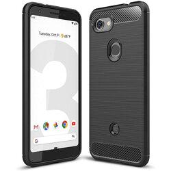 Husa Google Pixel 3a XL TPU Carbon Negru