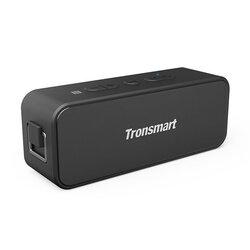 Boxa Portabila Tronsmart T2 Plus Wireless Universala Si Impermeabila Cu Bluetooth 5.0 Stereo De 20W - Negru