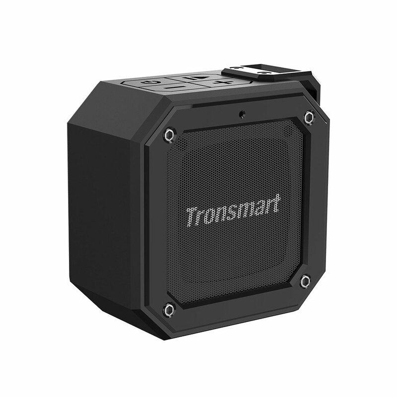 Boxa Portabila Tronsmart Element Groove Wireless Universala Cu Bluetooth Si Impermeabila IPX7 De 10W - Negru