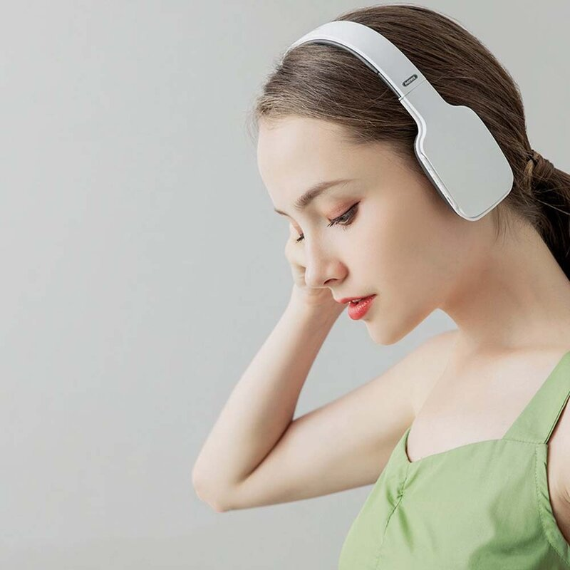 Casti On-Ear Remax RB-700HB Wireless Confortabile Si Pliabile Cu Bluetooth 5.0 Si Design Ultra-subtire - Alb