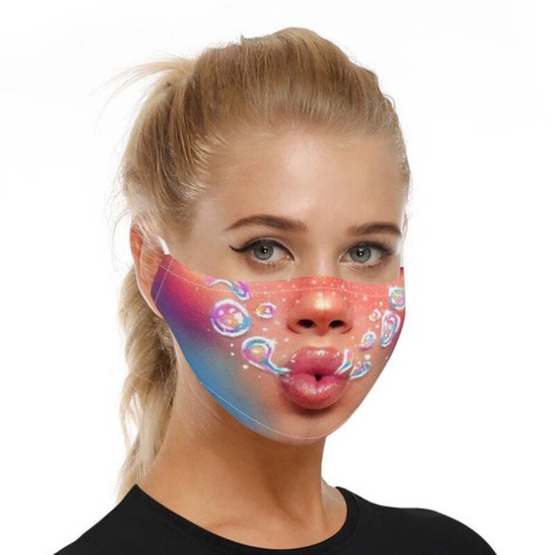 Masca De Protectie Faciala Mobster Universala Cu Doua Filtre PM2.5 Pentru Adulti Nesterila Reutilizabila - Model 1