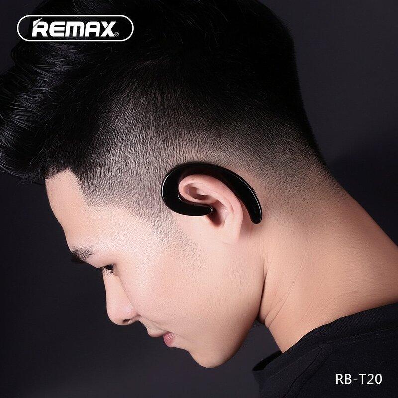Casca Bluetooth Remax Ultra Thin Bluetooth Headset Wireless Cu Design Ergonomic - RB-T20 - Rosu