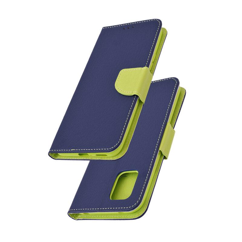 Husa Xiaomi Mi 10 Lite Flip MyFancy - Albastru