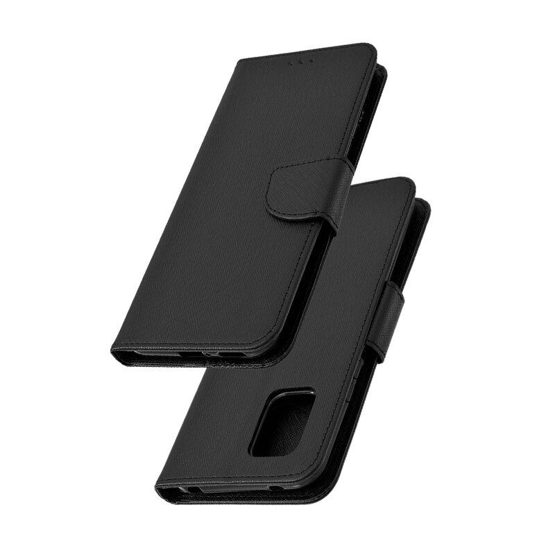 Husa Xiaomi Mi 10 Lite Flip MyFancy - Negru