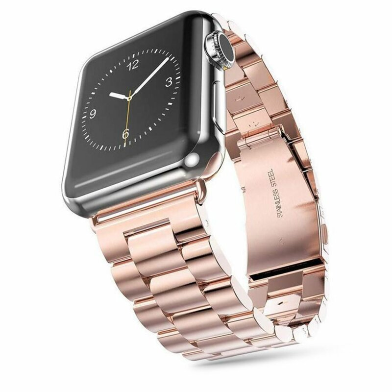 Curea Apple Watch 1 42mm Tech-Protect Stainless - Rose Gold