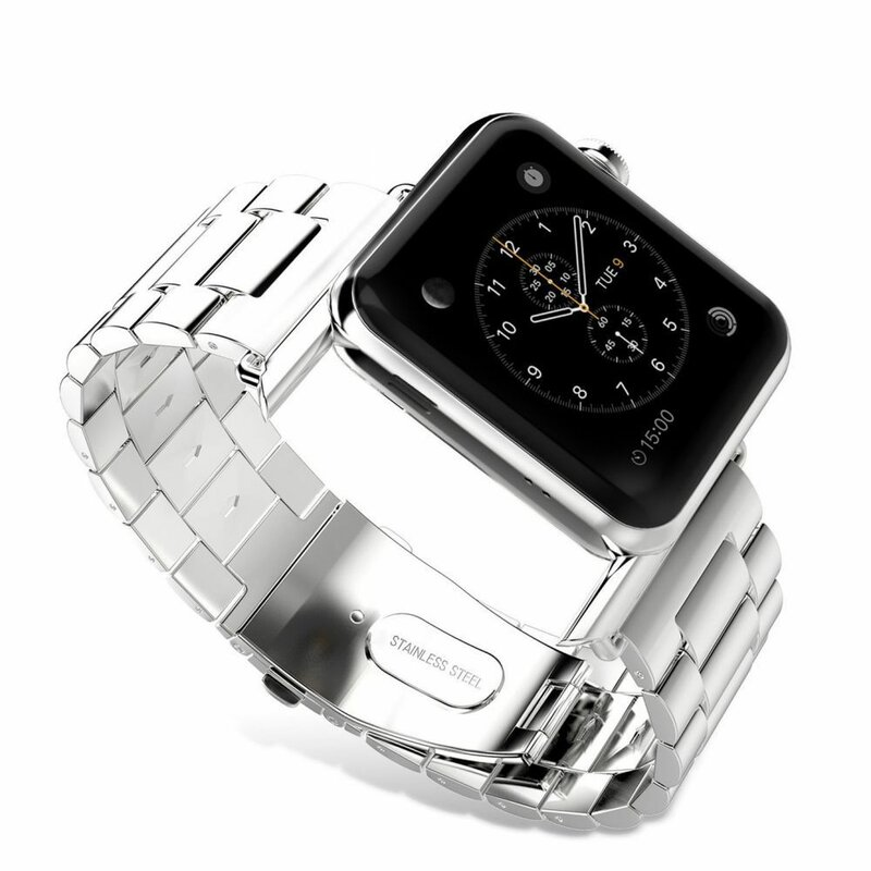 Curea Apple Watch 5 44mm Tech-Protect Stainless - Rose Gold