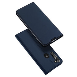 Husa Motorola Moto G8 Power Dux Ducis Skin Pro - Albastru