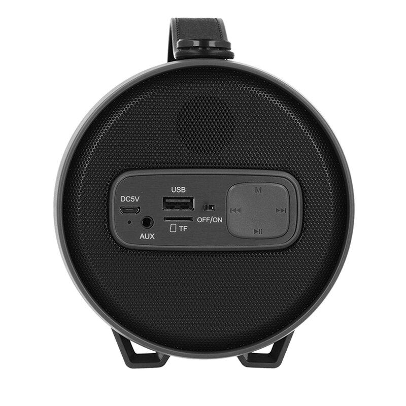 Boxa Portabila Vennus TWS S22E Wireless Cu Sunet Surround Bluetooth Radio Si Cablu De Alimentare - Negru