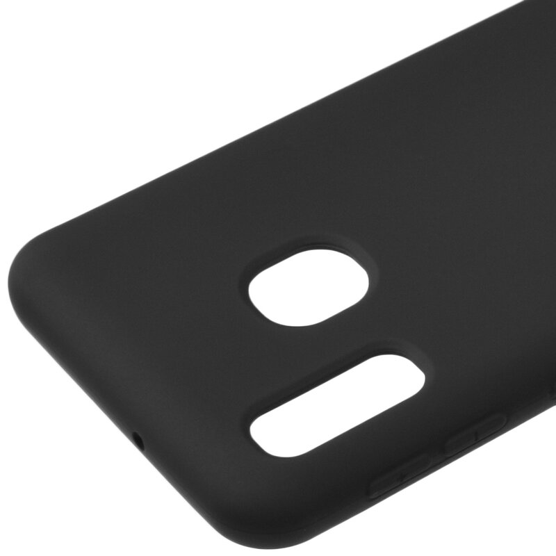 Husa Samsung Galaxy A20e Roar Colorful Jelly Case - Negru Mat