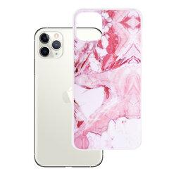 Husa iPhone 11 Pro Max Wozinsky Marble TPU - Pink