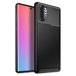 Husa Samsung Galaxy Note 10 Plus Mobster Carbon Skin Negru