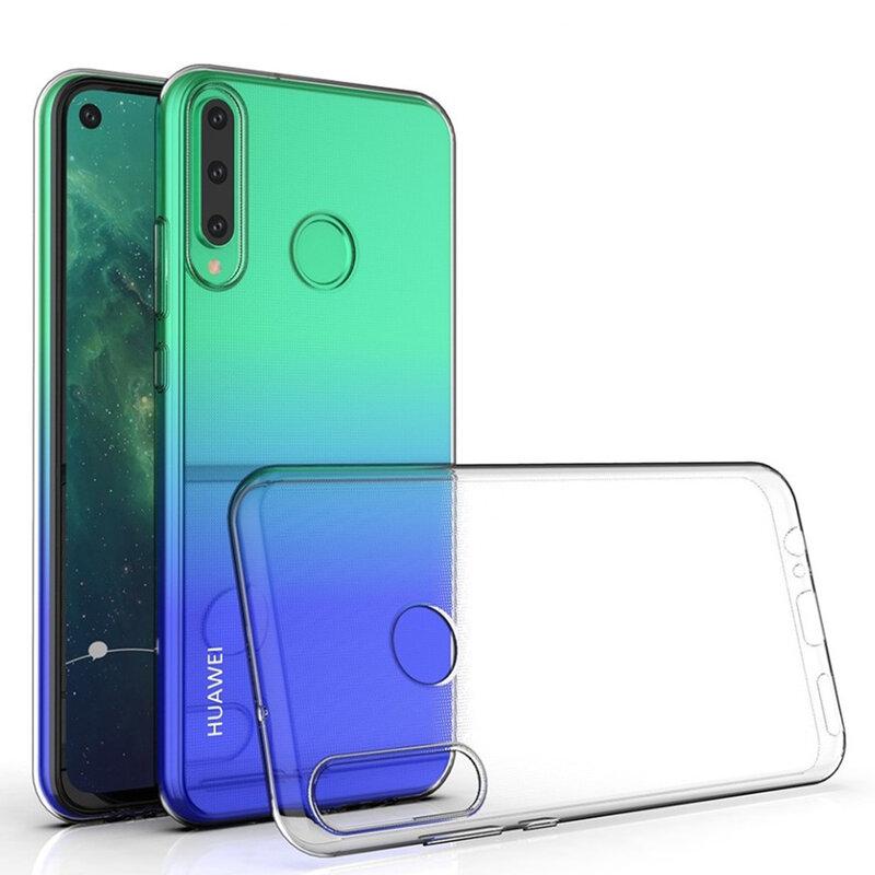 Husa Originala Huawei P40 Lite E Flexible Clear Case - Clear