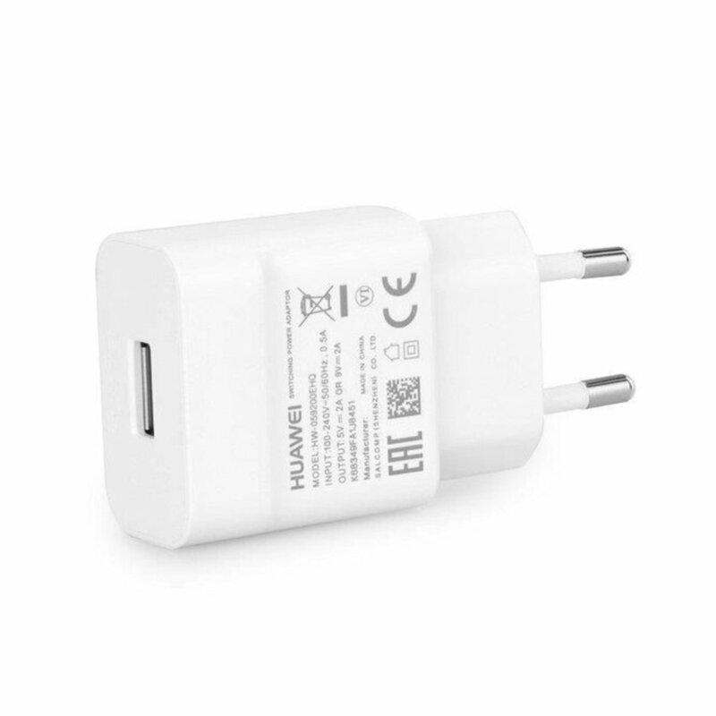 Incarcator priza original Huawei Quick Charge 1x USB, 2A, alb, bulk, HW-059200EHQ