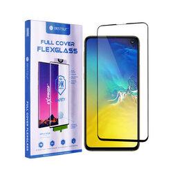 Folie Samsung Galaxy S10e Bestsuit Fullcover Flexible Glass 9H Hot Bending V2 - Negru