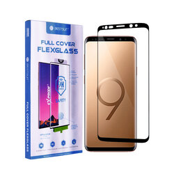 Folie Samsung Galaxy S9 Bestsuit Fullcover Flexible Glass 9H Hot Bending V2 - Negru