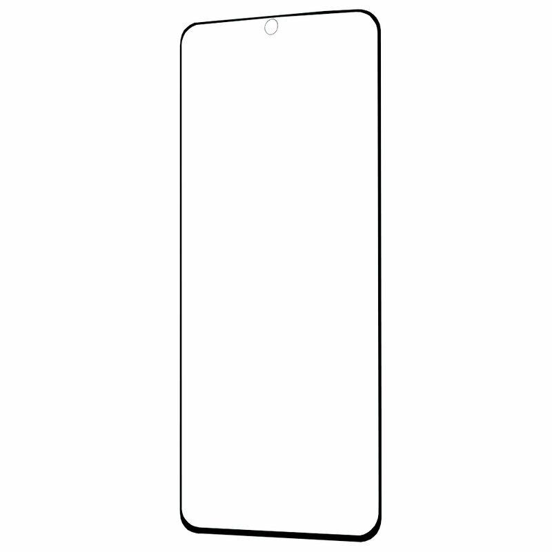 Folie Samsung Galaxy S20 Ultra 5G Bestsuit Fullcover Flexible Glass 9H Hot Bending V2 - Negru
