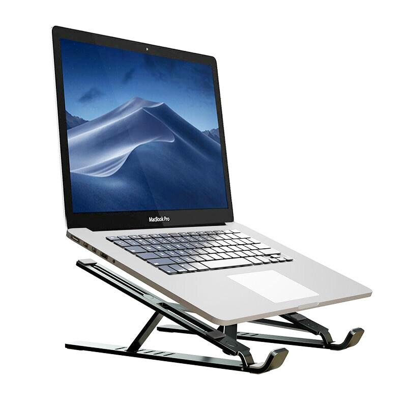 Suport Laptop Tech-Protect Alustand De Tip Stand Pliabil Si Reglabil Universal Din Aluminiu Maxim 16