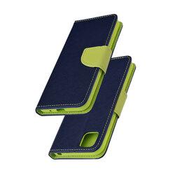 Husa Huawei Y5p Flip MyFancy - Albastru