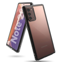 Husa Samsung Galaxy Note 20 5G Ringke Fusion - Smoke Black