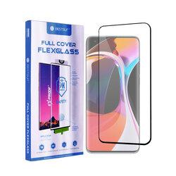 Folie Xiaomi Mi 10 Pro Bestsuit Fullcover Flexible Glass 9H Hot Bending V2 - Negru