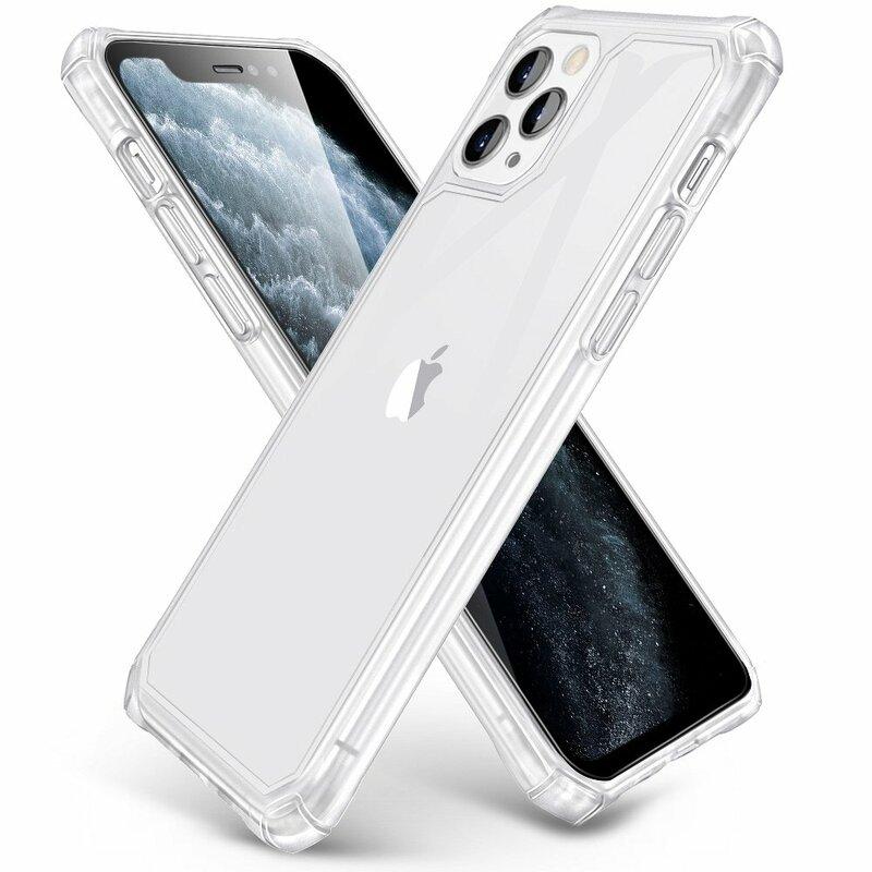 Husa iPhone 11 Pro Max ESR Cloud Armor Mata Din TPU Si Policarbonat Cu Colturi Intarite - Clear