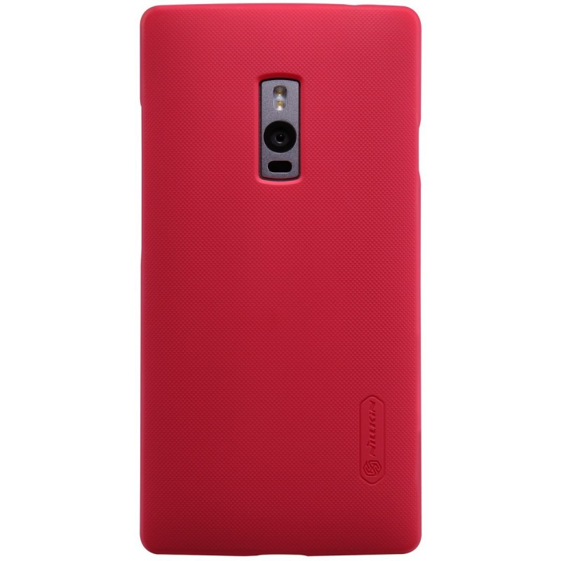 Husa OnePlus 2, OnePlus Two Nillkin Frosted Red