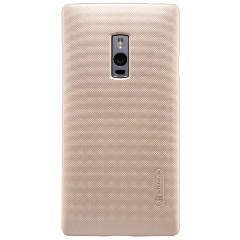 Husa OnePlus 2, OnePlus Two Nillkin Frosted Gold