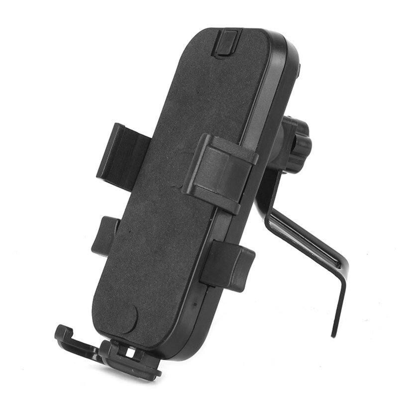 Suport Bicicleta/Motocicleta Telefon Universal Ajustabil Reglabil Cu Prindere Pe Suportul De Oglinda - CD-268 - Negru