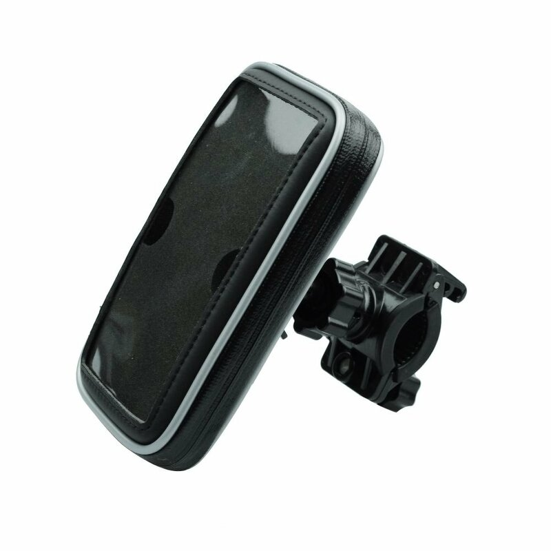 Geanta Bicicleta/Scuter/Trotineta Blue Star Samsung S4/S5 Universala Impermeabila Cu Prindere Pe Ghidon - Negru