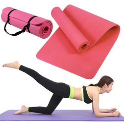 Saltea gimnastica, impermeabila, fitness, yoga, aerobic, pilates, roz