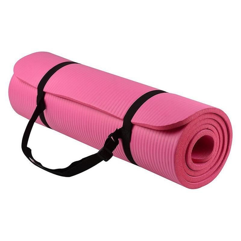 Saltea Gimnastica Non-Alunecare Pentru Exercitii De Intretinere/Fitness/Yoga/Aerobic/Pilates Impermeabila - Roz