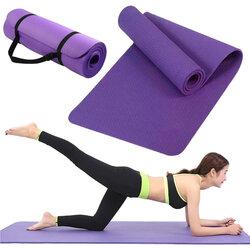 Saltea gimnastica, impermeabila, fitness, yoga, aerobic, pilates, violet