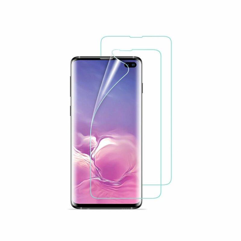 [Pachet 2x] Folie Samsung Galaxy S20 Plus ESR Full Coverage Liquid Skin - Clear