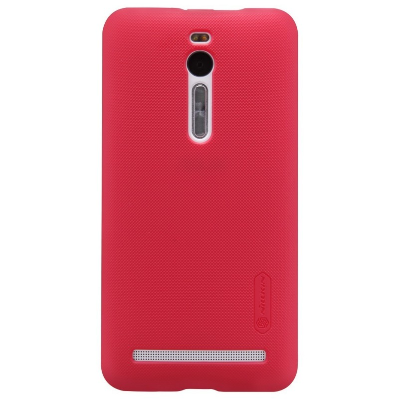 Husa Asus Zenfone 2 ZE551ML (5.5 inch) Nillkin Frosted Red