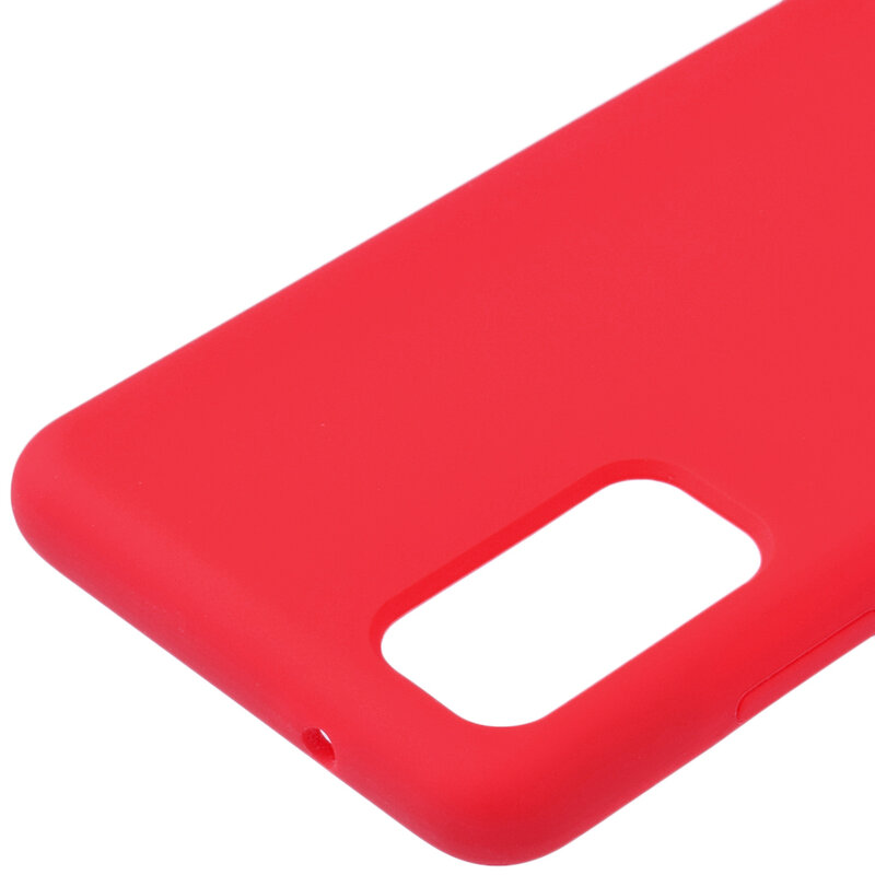 Husa Samsung Galaxy S20 Plus Silicon Soft Touch - Rosu