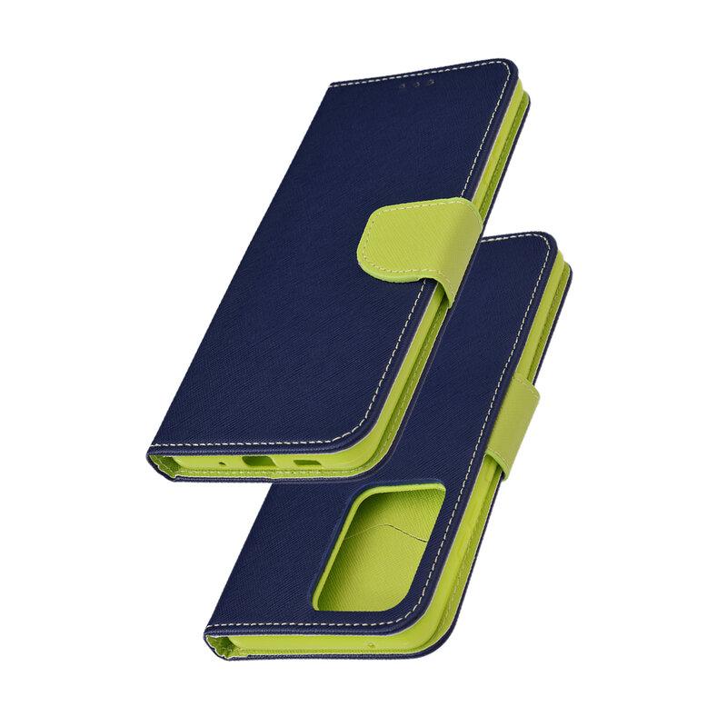 Husa Samsung Galaxy S20 Ultra 5G Flip MyFancy - Albastru