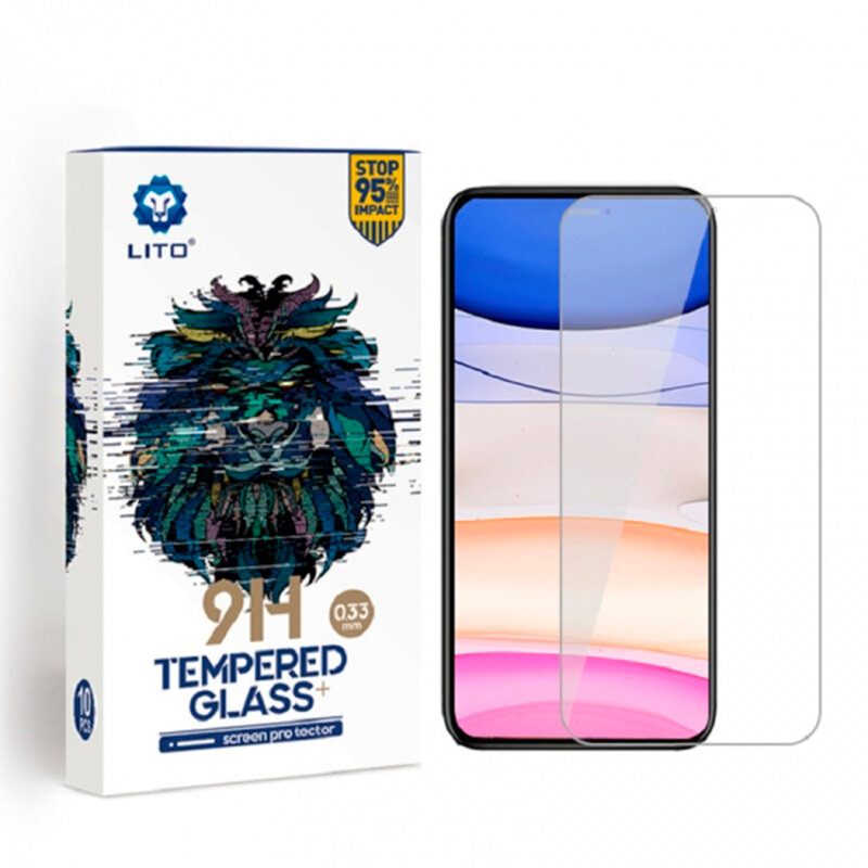 Folie Sticla OnePlus 7T Lito 9H Tempered Glass - Clear