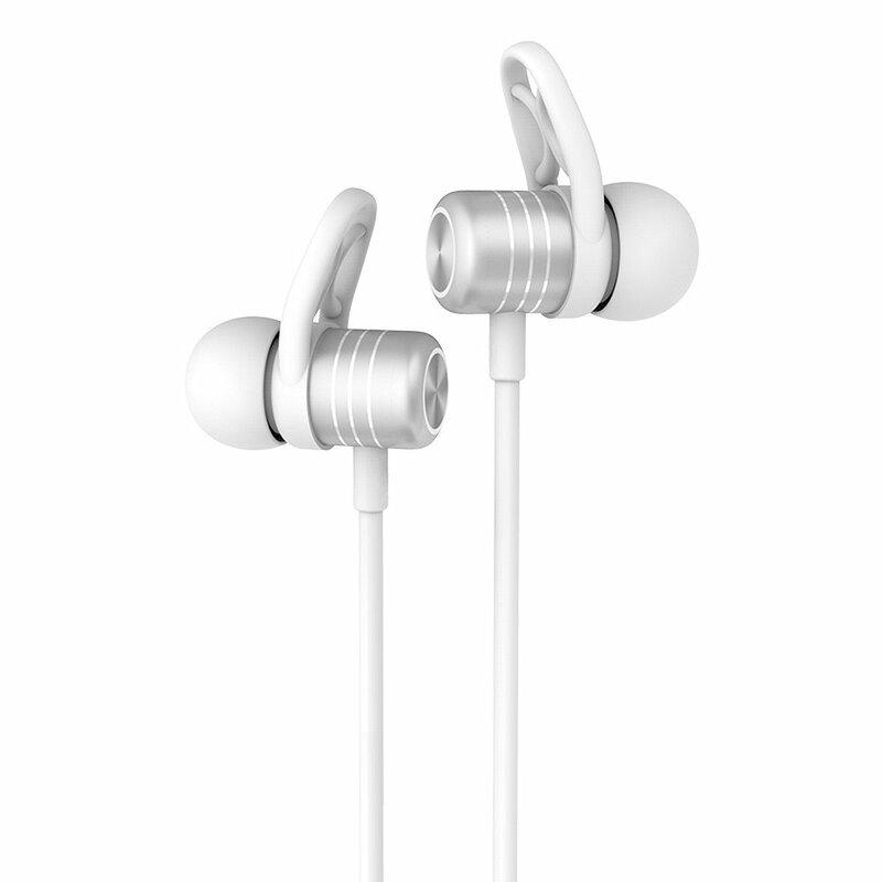 Casti In-Ear Bluetooth Cu Microfon Hoco ES14 Plus Breathing Sound - Silver