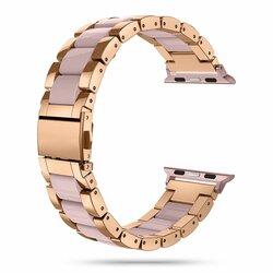 Curea Apple Watch 5 40mm Tech-Protect Modern - Pearl