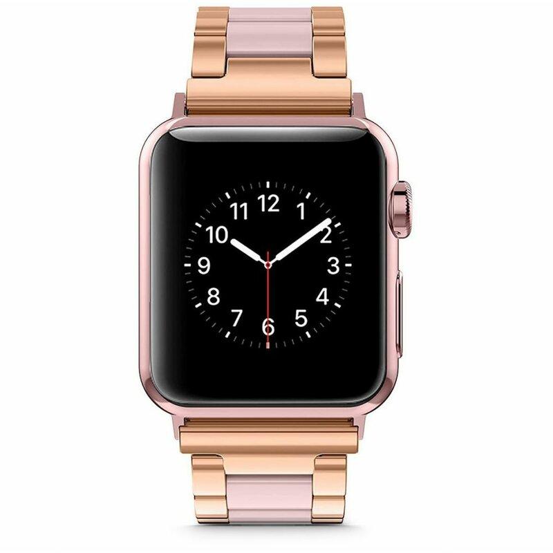 Curea Apple Watch 1 42mm Tech-Protect Modern - Pearl