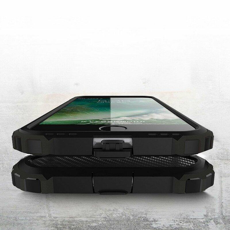 Husa iPhone SE 2, SE 2020 Hybrid Armor - Negru
