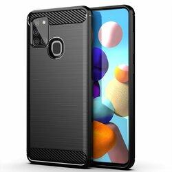 Husa Samsung Galaxy A21s TPU Carbon - Negru