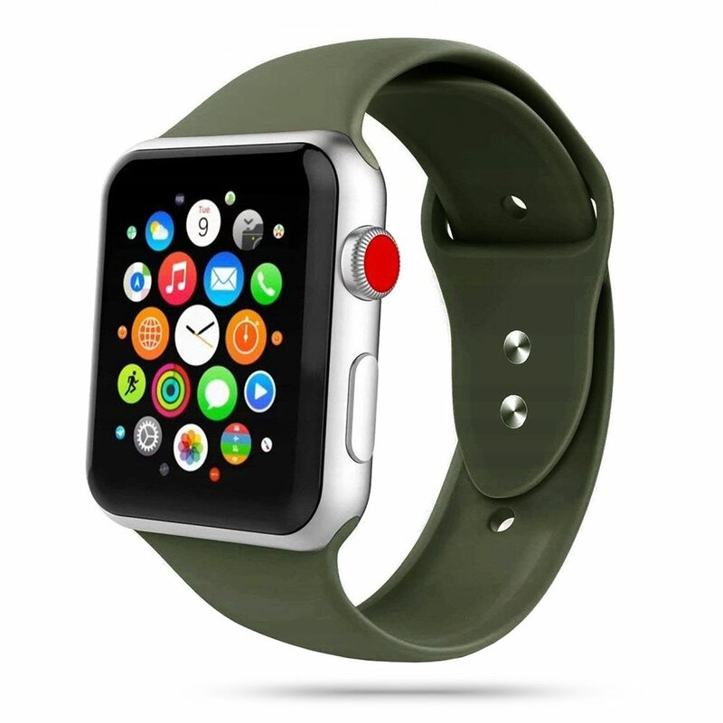 Curea Apple Watch 1 38mm Tech-Protect Iconband - Army Green