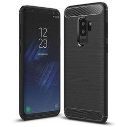 Husa Samsung Galaxy S9 Plus TPU Carbon - Negru