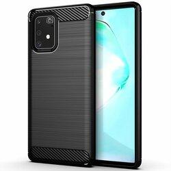 Husa Samsung Galaxy S10 Lite TPU Carbon - Negru