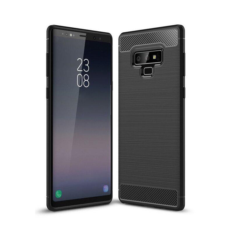 Husa Samsung Galaxy Note 9 TPU Carbon - Negru