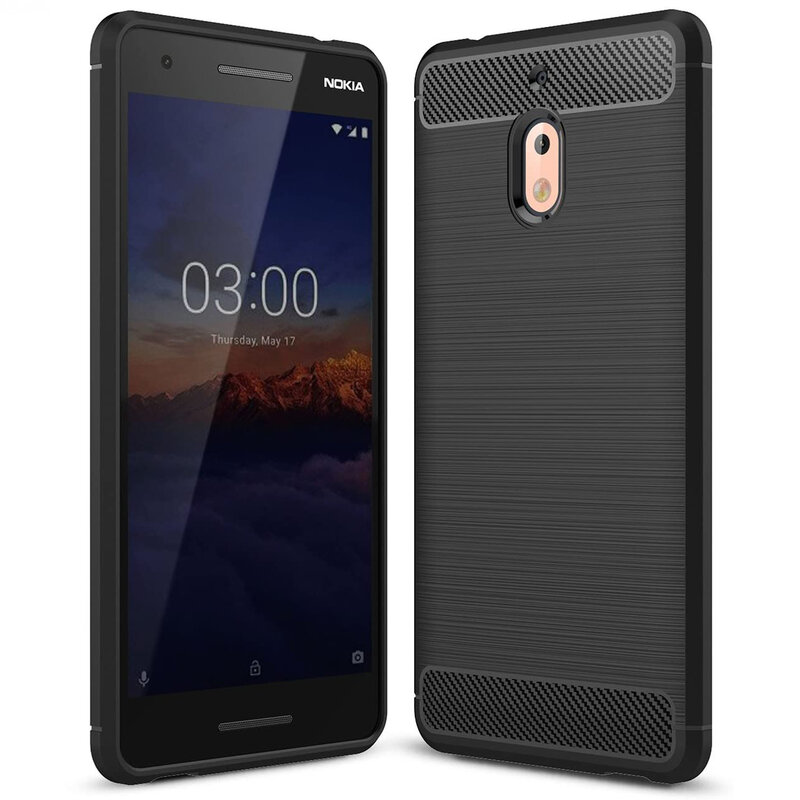 Husa Nokia 2.1 2018 TPU Carbon - Negru