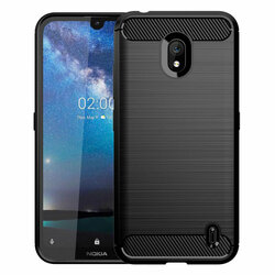Husa Nokia 1 Plus TPU Carbon - Negru